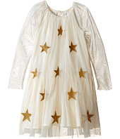 Stella McCartney Kids - Misty Star Patched Tulle Dress (Toddler/Little Kids/Big Kids)