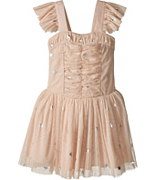 Stella McCartney Kids - Jo Jo All Over Star Print Ruched Tulle Dress (Toddler/Little Kids/Big Kids)