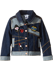 Little Marc Jacobs - Denim Jacket with Fancy Patches (Toddler/Little Kids)