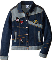 Little Marc Jacobs - Denim Jacket with Fancy Patches (Little Kids/Big Kids)