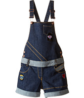Little Marc Jacobs - Denim Dungaree with Fancy Patches (Little Kids/Big Kids)