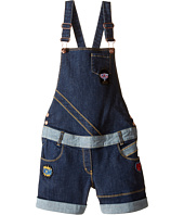 Little Marc Jacobs - Denim Dungaree with Fancy Patches (Big Kids)