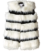 Little Marc Jacobs - Faux Fur Sleeveless and Striped Gilet (Toddler/Little Kids)