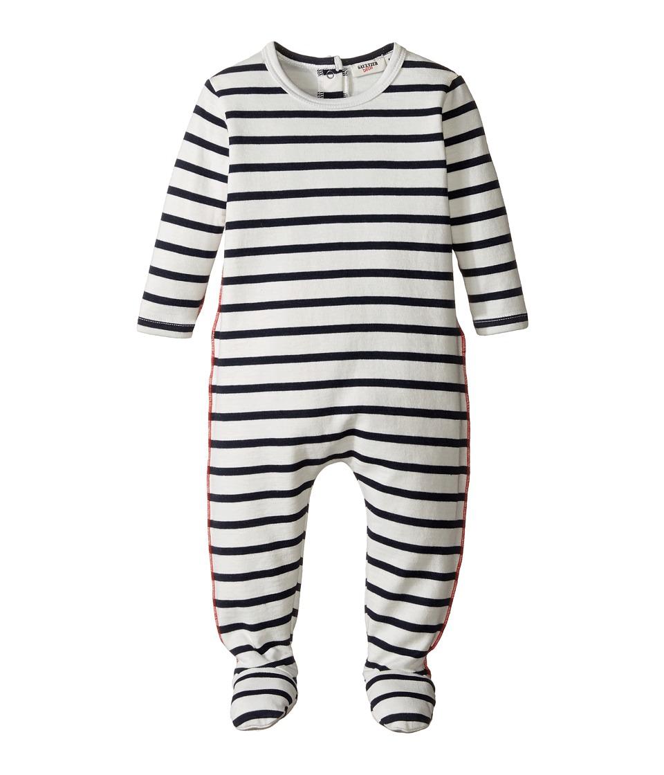 Junior Gaultier - Striped Footie