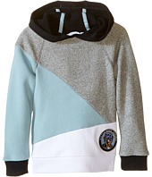 Little Marc Jacobs - Long Sleeve Hooded Colors Block Sweatshirt (Toddler/Little Kids)