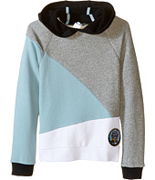 Little Marc Jacobs - Long Sleeve Hooded Colors Block Sweatshirt (Little Kids/Big Kids)