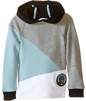 Little Marc Jacobs - Long Sleeve Hooded Colors Block Sweatshirt (Big Kids)