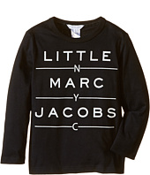 Little Marc Jacobs - Resort - Long Sleeve Essential Tee Shirt (Toddler/Little Kids)