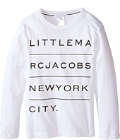 Little Marc Jacobs - Resort - Long Sleeve Essential Tee Shirt (Little Kids/Big Kids)