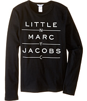 Little Marc Jacobs - Resort - Long Sleeve Essential Tee Shirt (Big Kids)