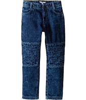 Little Marc Jacobs - Denim Effect Trousers with Knees Patches (Toddler/Little Kids)