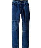 Little Marc Jacobs - Denim Effect Trousers with Knees Patches (Little Kids/Big Kids)