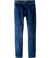 Little Marc Jacobs - Denim Effect Trousers with Knees Patches (Big Kids)