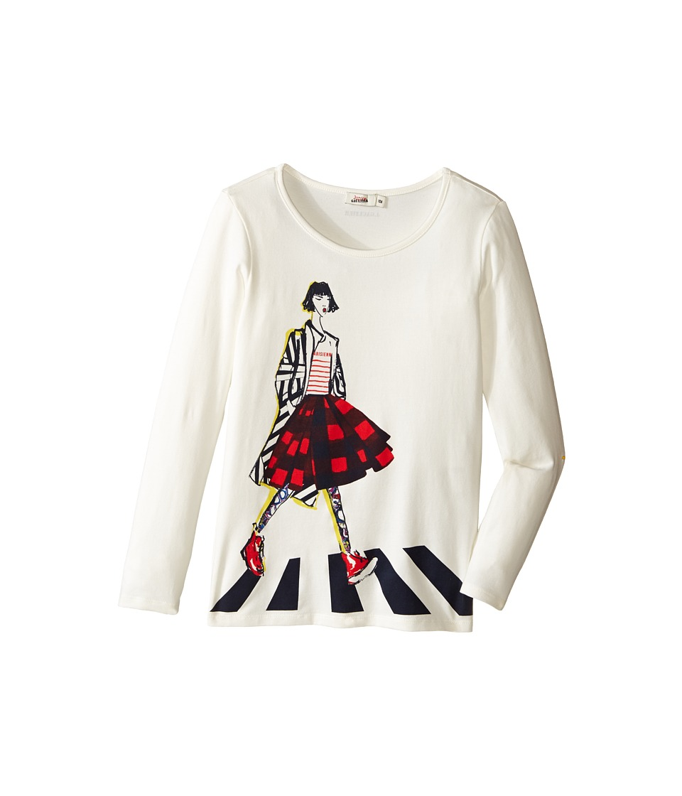 Junior Gaultier - Tee Shirt with Girl