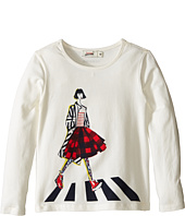 Junior Gaultier - Tee Shirt with Girl (Toddler/Little Kids)