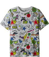 Stella McCartney Kids - Arrow Short Sleeve All Over Graphic Tee (Toddler/Little Kids/Big Kids)