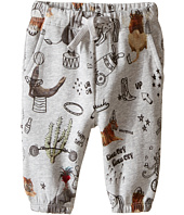 Stella McCartney Kids - Loopie Animal Print Fleece Pants (Infant)