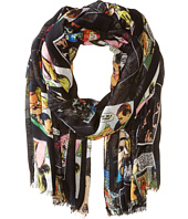 Bindya - Lulla by Bindya Comic Print Scarf