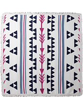 Plush - Arrowhead Square Beach Towel
