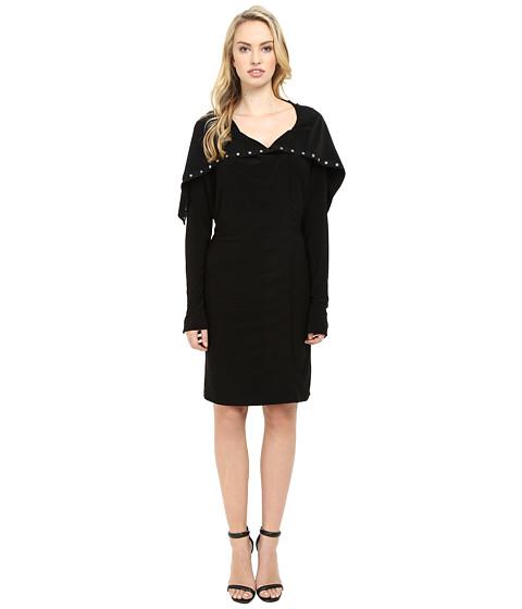 KAMALIKULTURE by Norma Kamali Side Snap Dress To Knee - Black