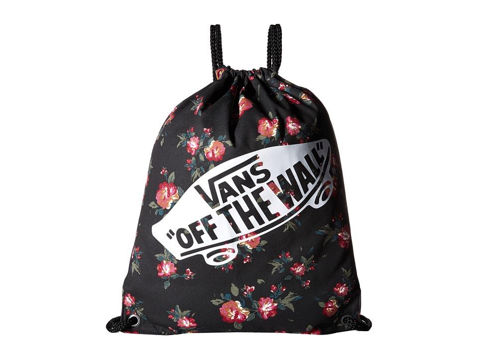 Vans - Benched Novelty Bag (Floral Black) Bags