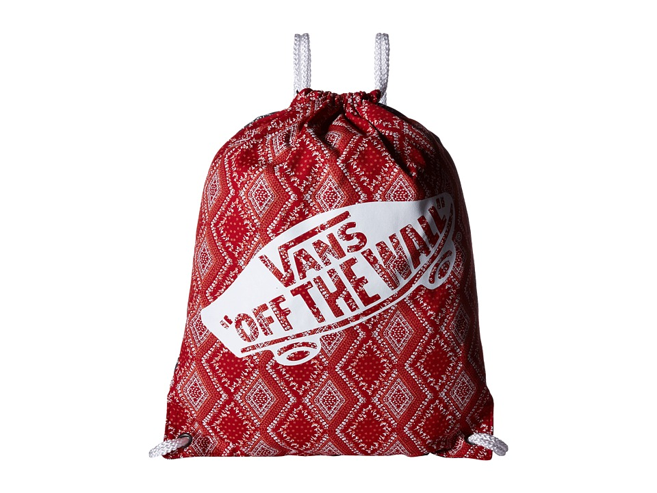 Vans - Benched Novelty Bag (Bandana Chili Pepper) Bags