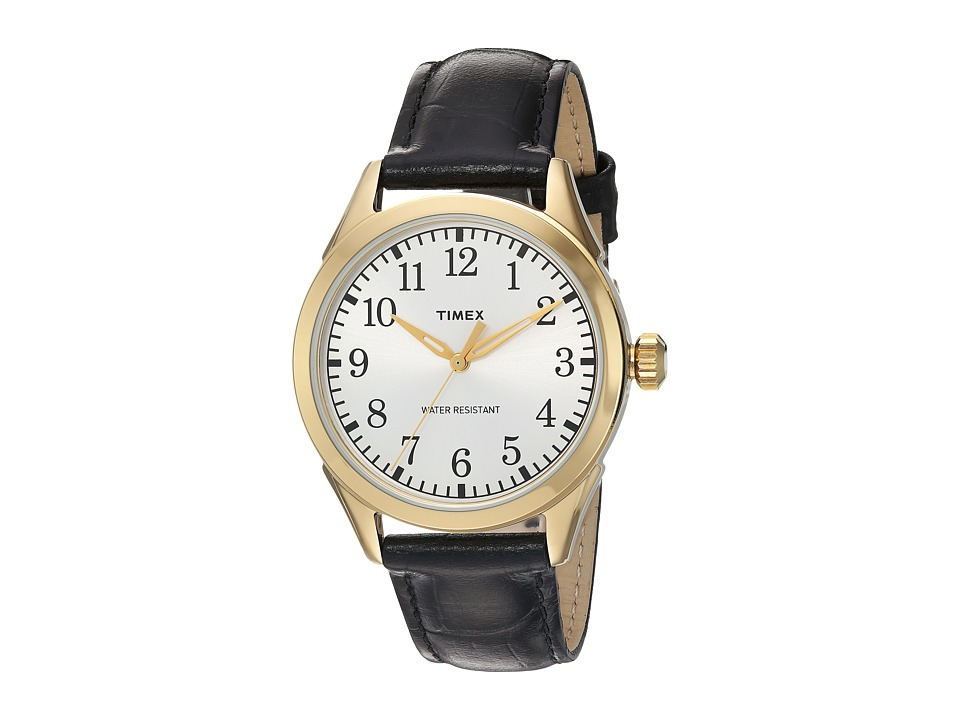 Timex Timex - Briarwood Terrace Croco Pattern Leather Strap