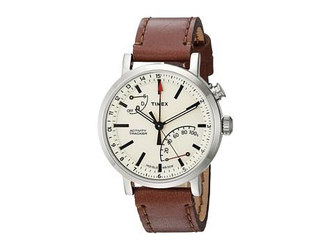 Timex Metropolitan+ - Brown/Silver-Tone/Tan