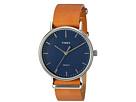 Timex - Fairfield Leather Slip-Thru Strap