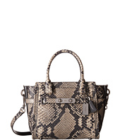 COACH - Stamped Snakeskin Coach Swagger 21