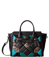 COACH - Canyon Quilt Exotic Coach Swagger 27