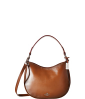 COACH - Burnished Leather Coach Nomad Crossbody