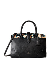 COACH - Print Haircalf Mercer Satchel