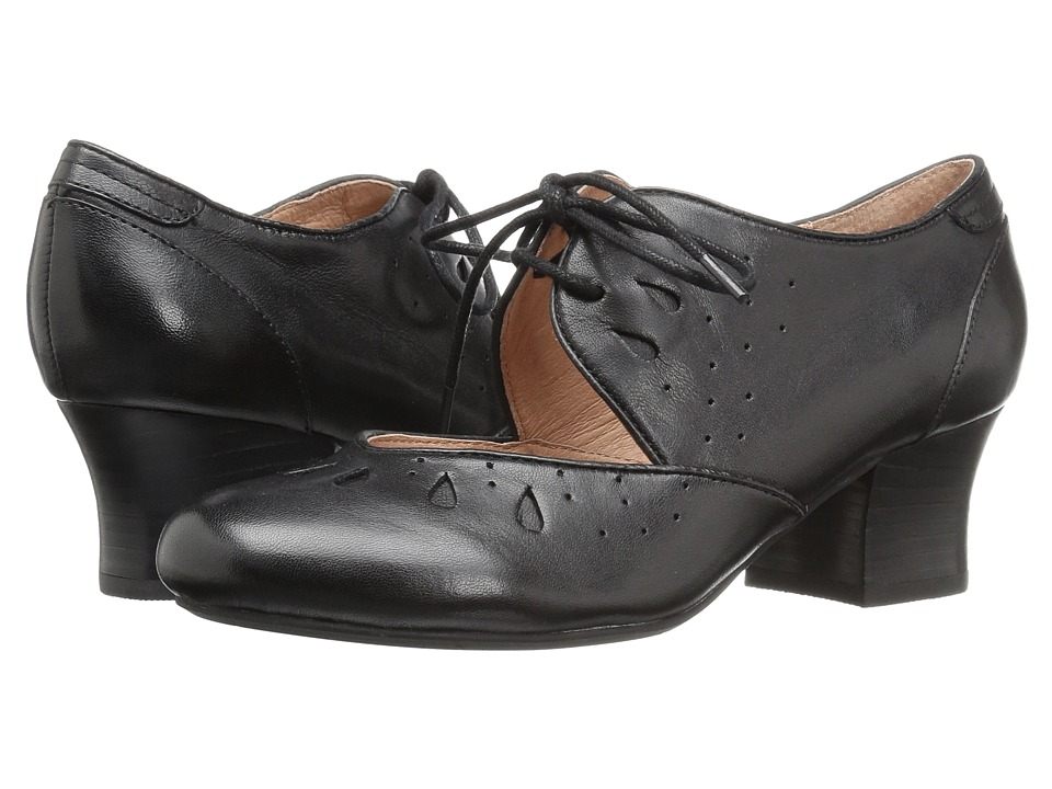 1960s Inspired Fashion: Recreate the Look Miz Mooz - Fordham Black Womens Shoes $117.99 AT vintagedancer.com