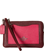 COACH - Color Block Corner Zip Bag