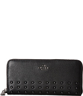 COACH - Rivets Slim Accordian Zip