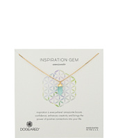 Dogeared - Inspiration Gem Amazonite Necklace