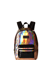 Little Marc Jacobs - Leather Effect Backpack with Leather Label