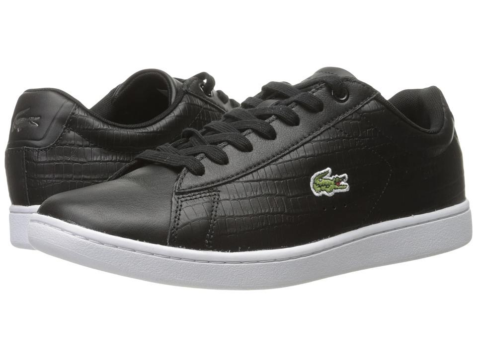 Lacoste Carnaby EVO G316 5 (Black/Black) Men