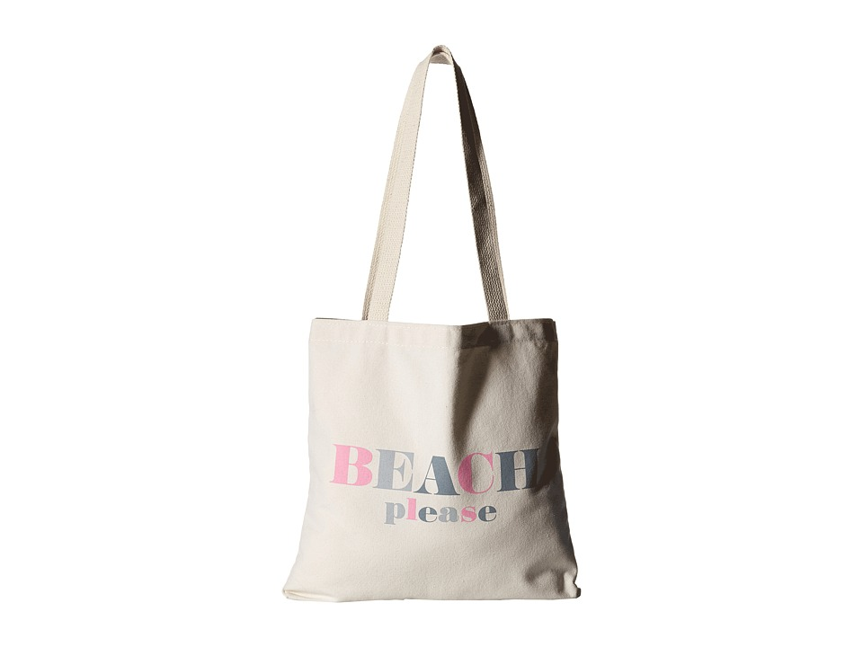 Dogeared - Beach, Please Lil' Tote (Canvas) Tote Handbags