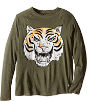 Stella McCartney Kids - Max Tiger Graphic Raglan T-Shirt (Toddler/Little Kids/Big Kids)