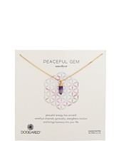 Dogeared - Peaceful Gem Amethyst Necklace