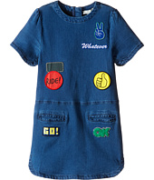 Stella McCartney Kids - Maude Denim Dress with Badges (Toddler/Little Kids/Big Kids)
