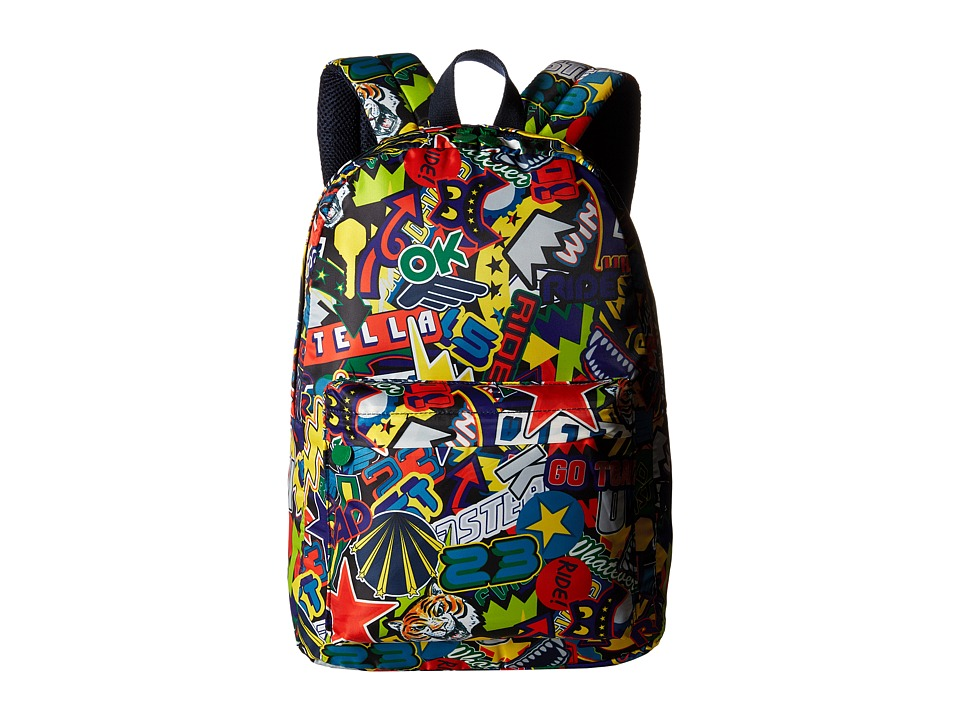 Stella McCartney Kids - Bang All Over Graphic Backpack (Multicolor) Backpack Bags