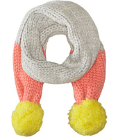 Stella McCartney Kids - Twinky Chuncky Knit Scarf with Pom Pom