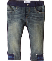 Versace Kids - Denim and Sweatpants Mixed Fabrics (Infant)