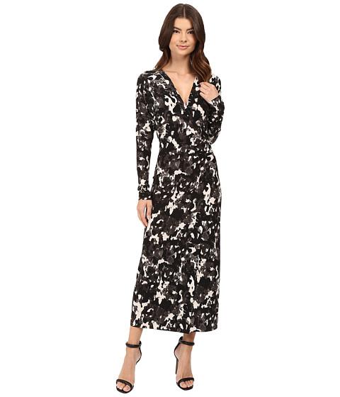 KAMALIKULTURE by Norma Kamali Dolman Wrap Dress - Modern Camo