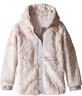 Stella McCartney Kids - Treasure Faux Fur Hooded Jacket (Toddler/Little Kids/Big Kids)