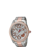 Betsey Johnson - BJ00249-39 - Two-Tone Heart Face