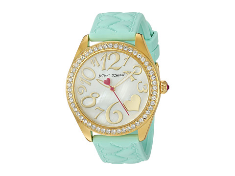 Betsey Johnson BJ00048-171 - Mint Silicone Strap